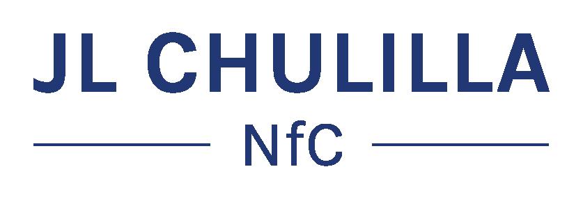 Logo JLChulilla - Azul Fondo Transparente